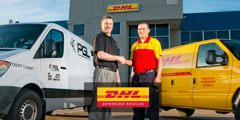 PGL/DHL Express Services hand shake