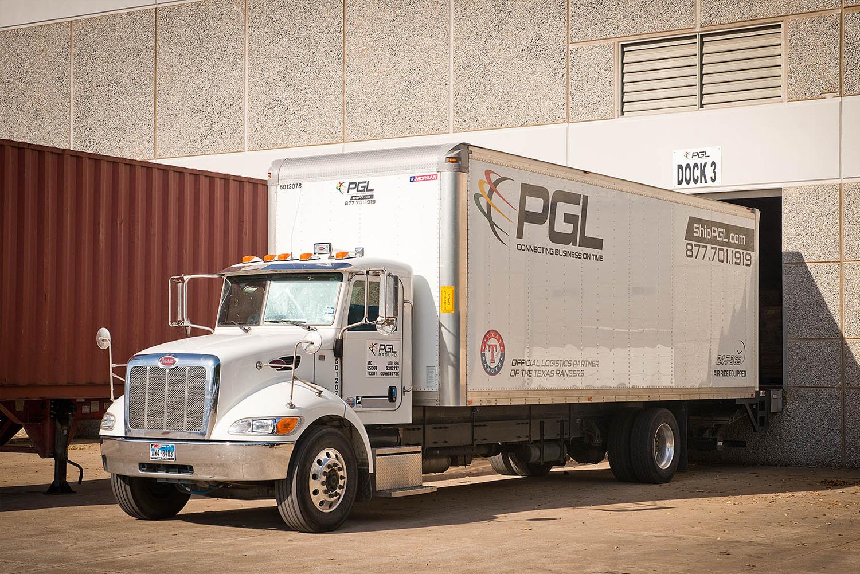 PGL truck at Dock