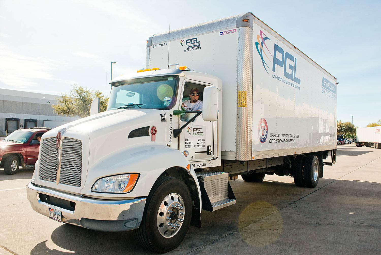 PGL White Box truck