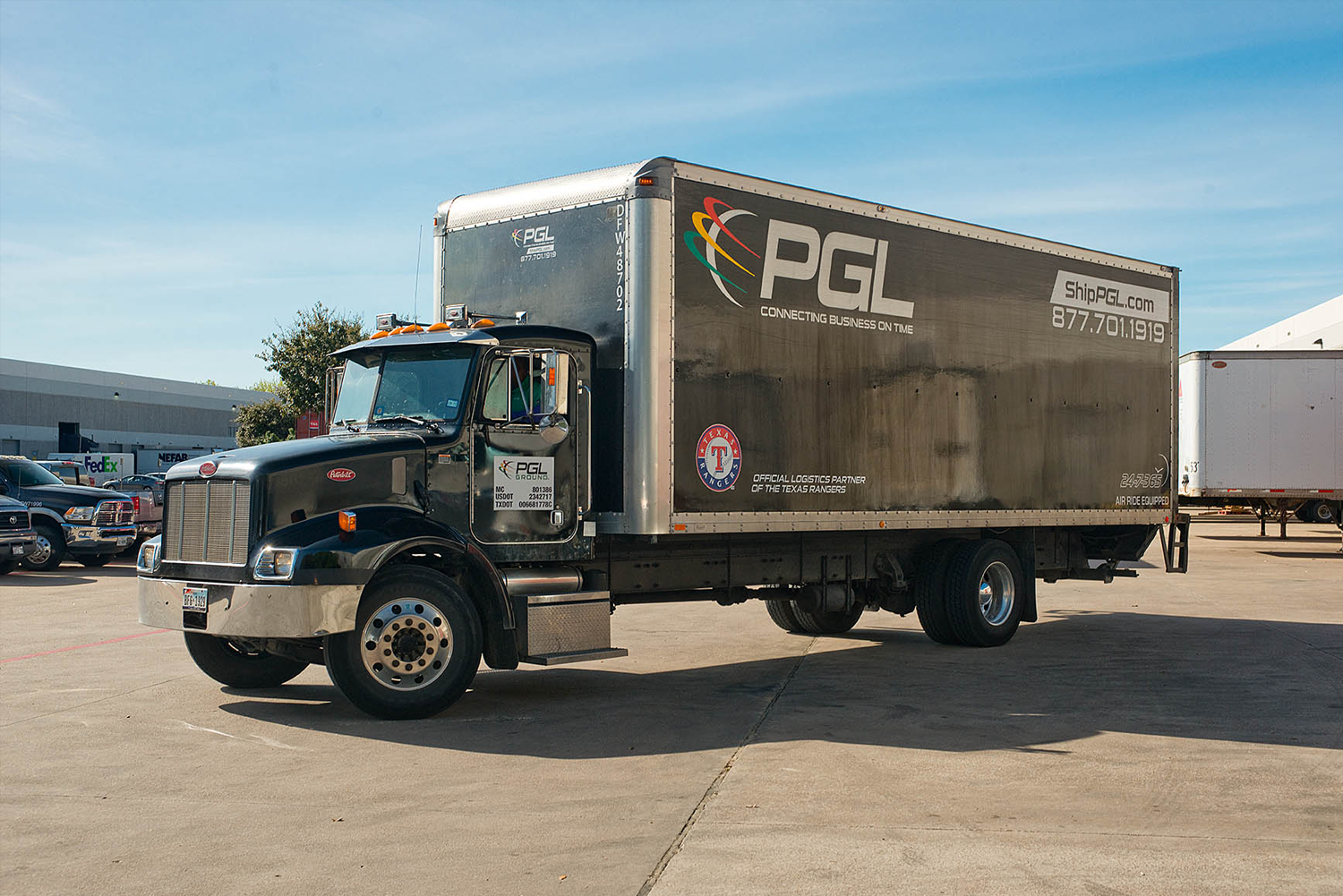 GPL Black Box truck at PHX location