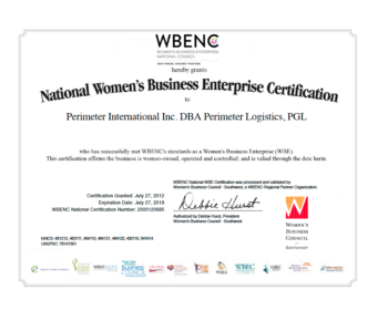 PGL-WBENC-Certificate