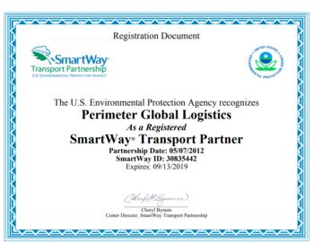 Smartway-Certificate