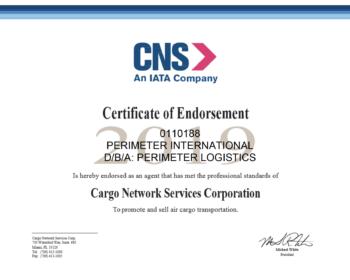 CNS Certificate 2019